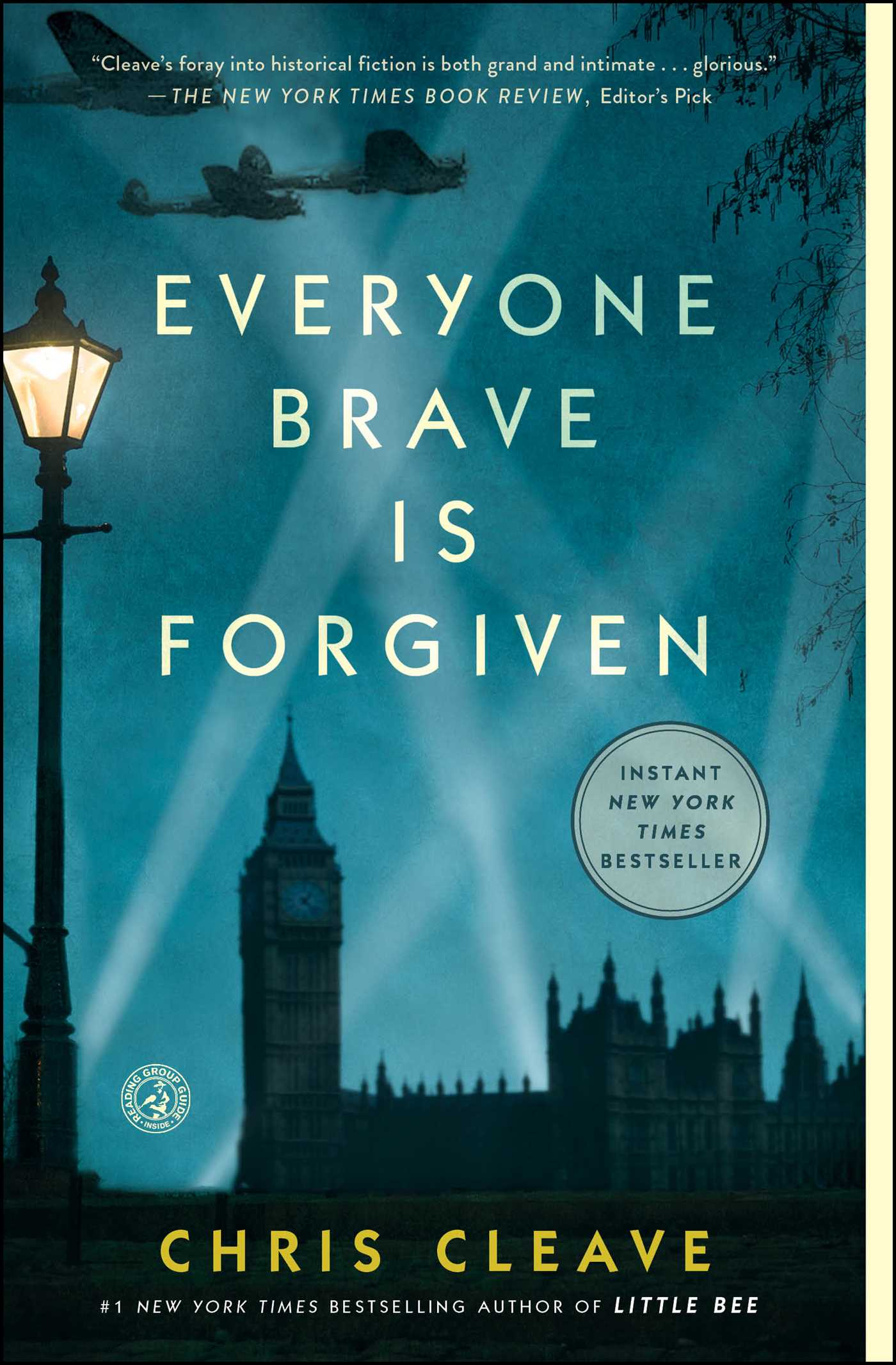 everyone brave is forgiven by Chris Cleave