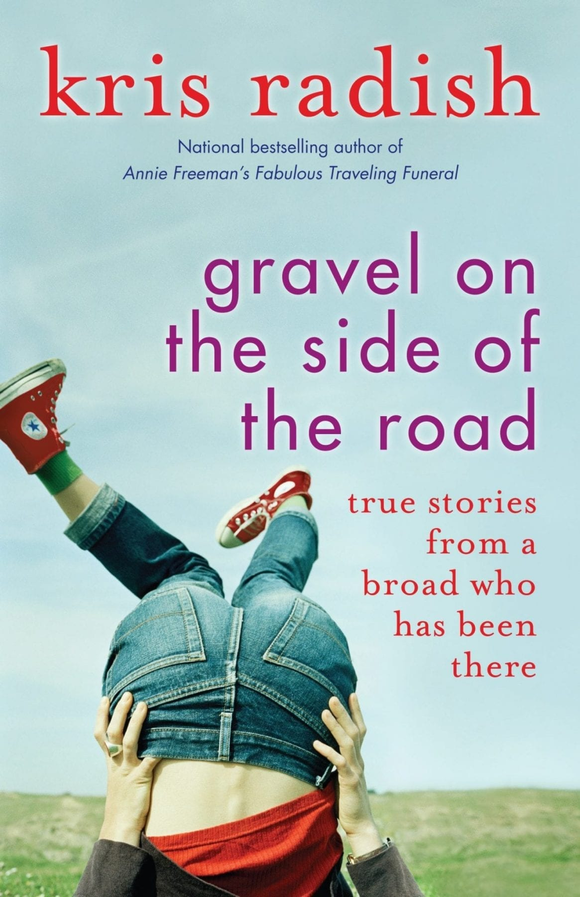 Gravel on the Side of the Road by Kris Radish