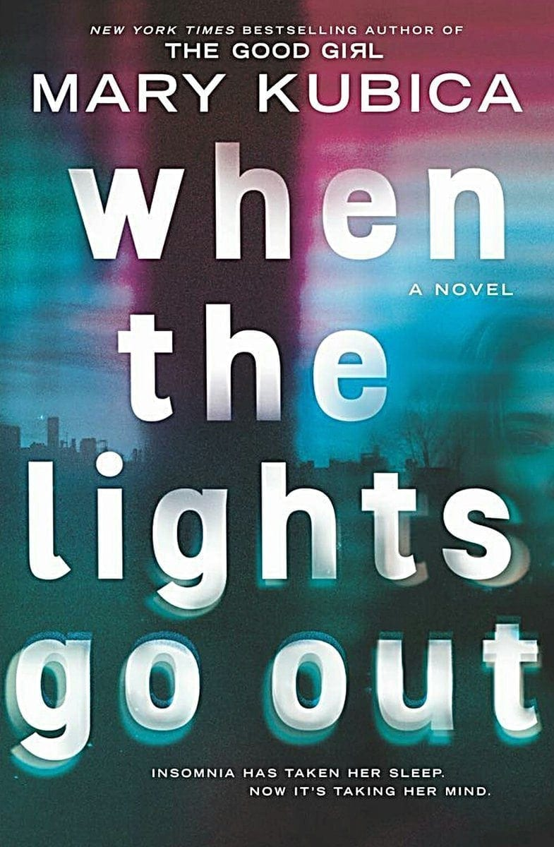 When the Lights Go Out cover reveal