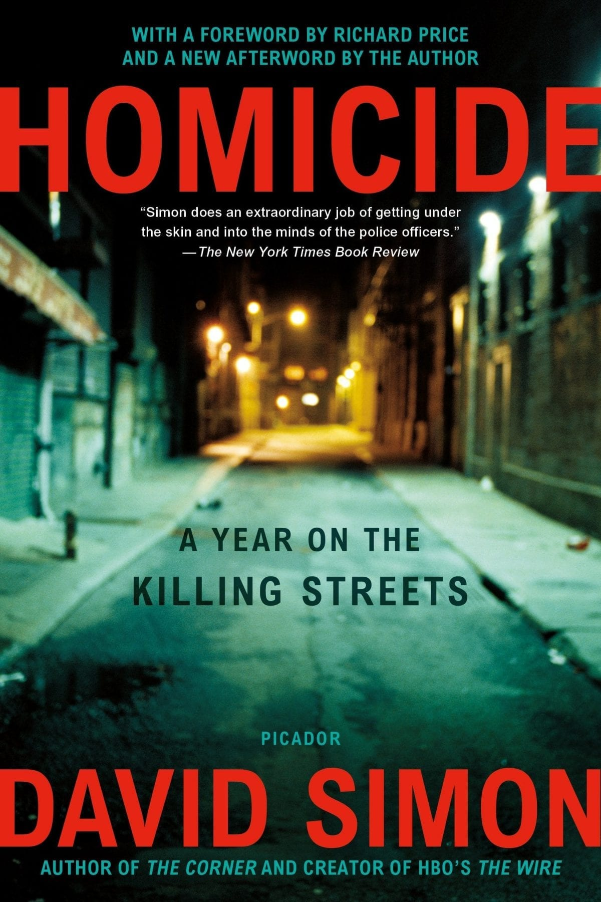 Homicide- A Year on the Killing Streets by David Simon