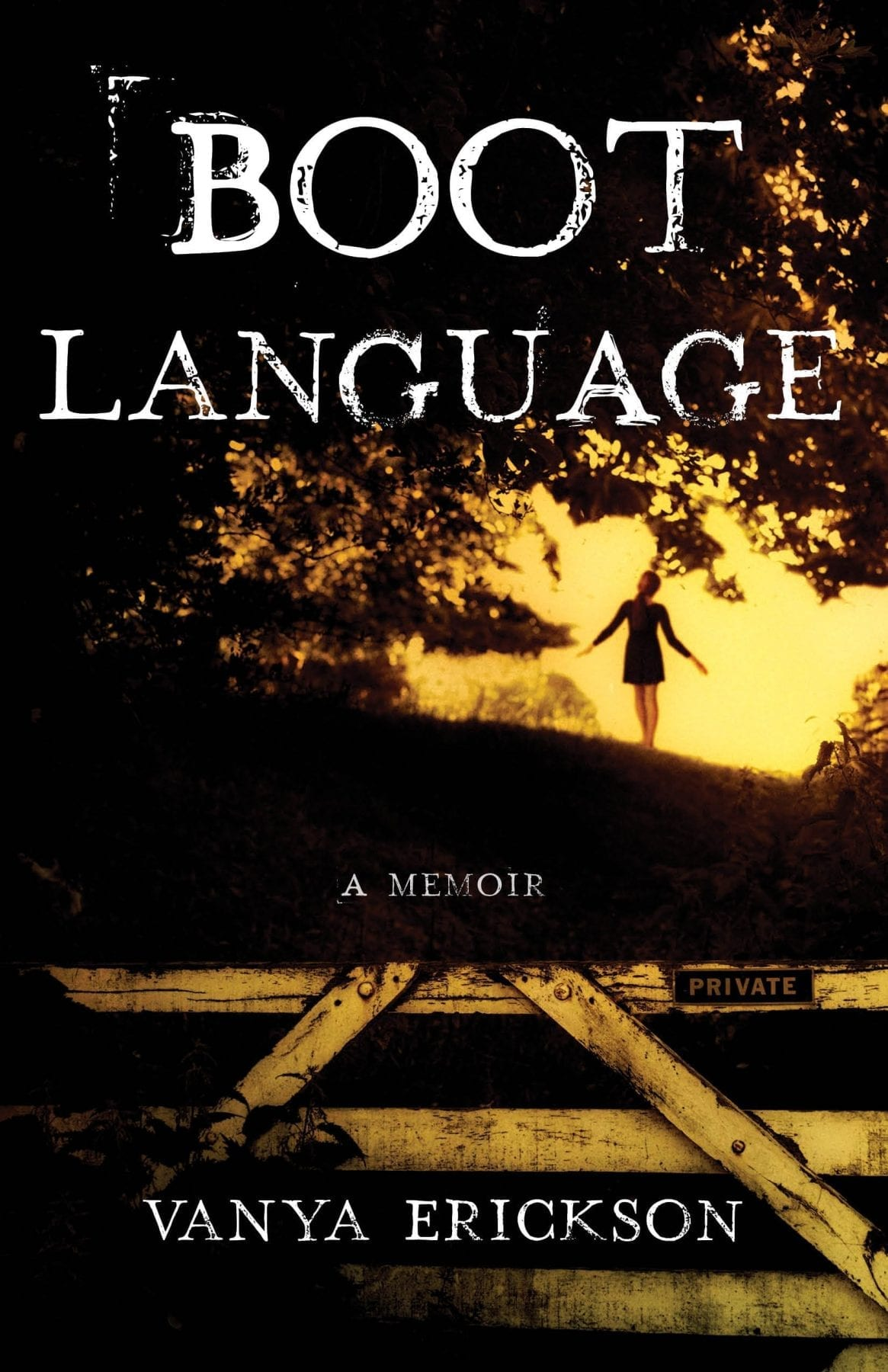 Boot Language by Vanya Erickson