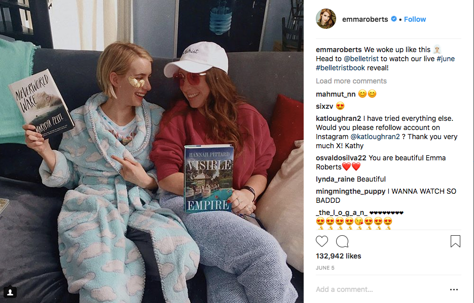 Emma Roberts reads Neverworld Wake by Marisha Pessi