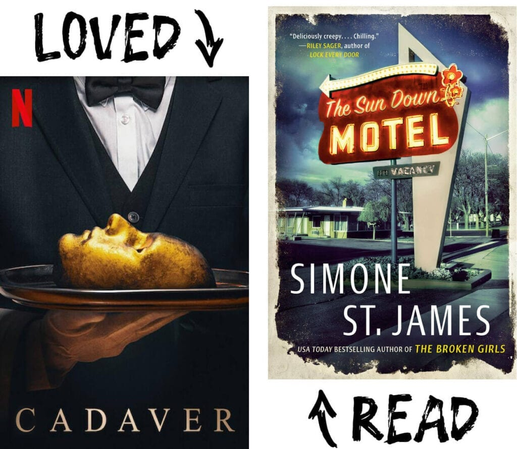 Scary Book and Movie Pairings - The Sun Down Motel