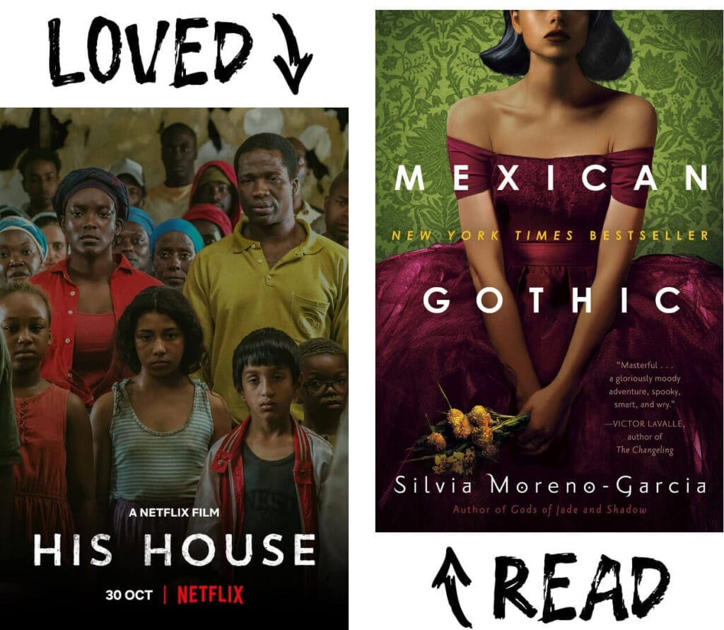 Scary Book and Movie Pairings - Mexican Gothic