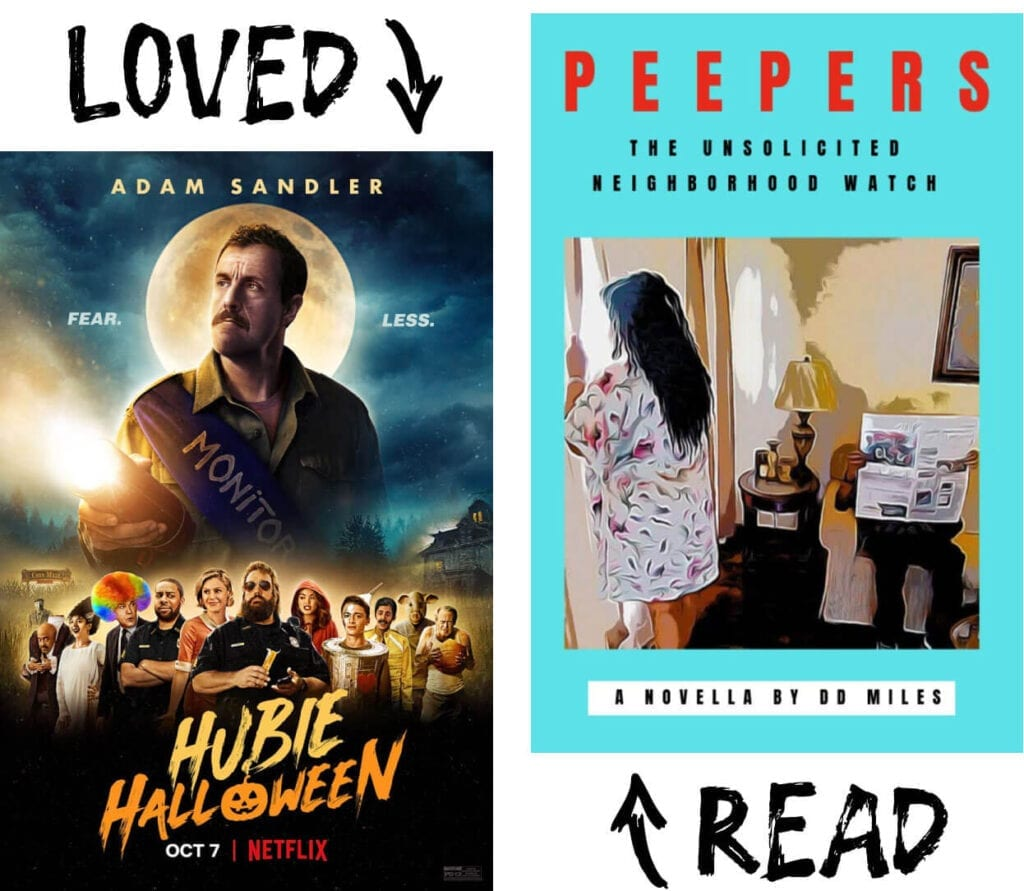 Scary Book and Movie Pairings - Peepers
