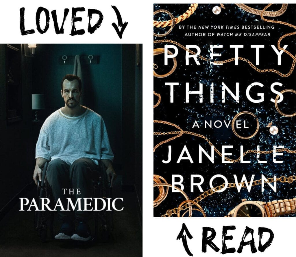 Scary Book and Movie Pairings - Pretty Things