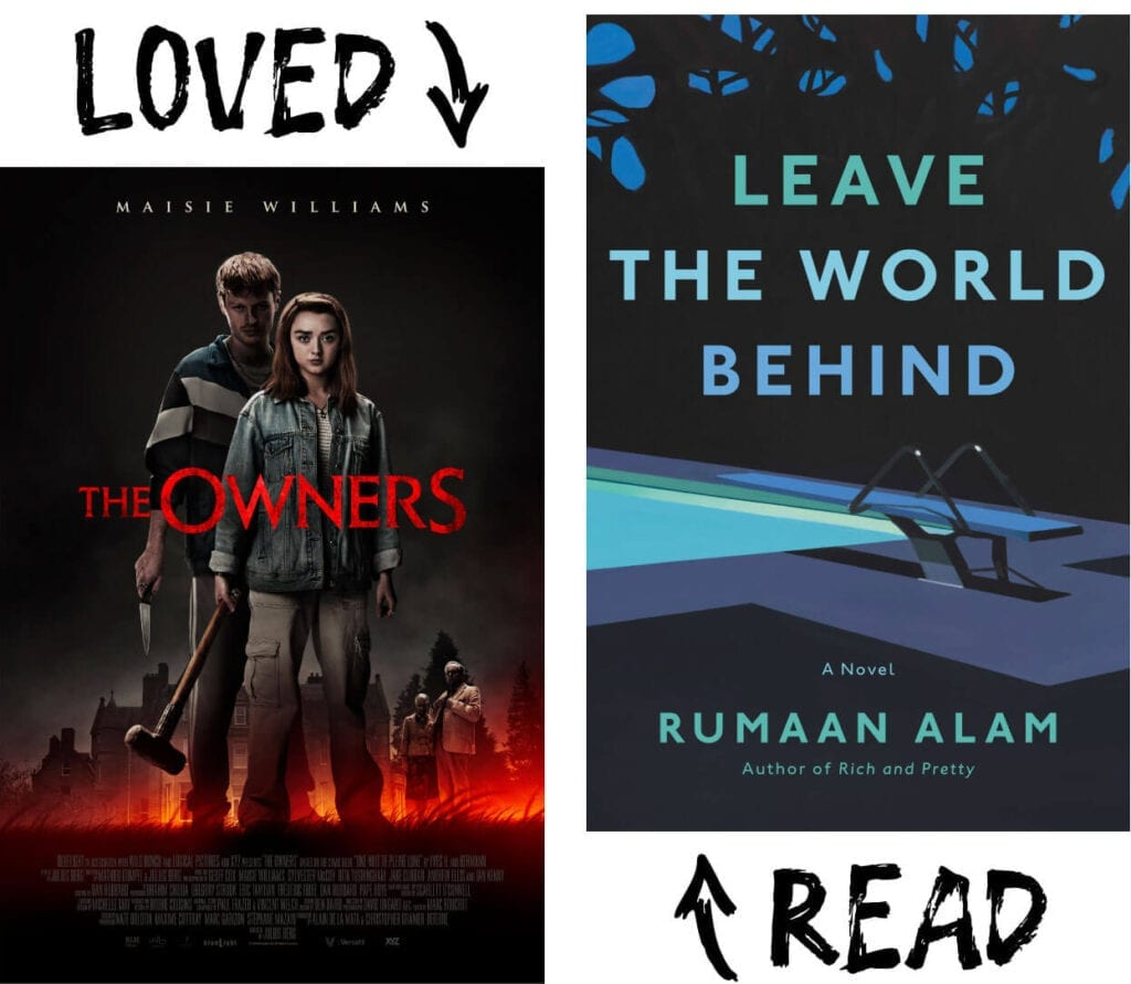 Scary Book and Movie Pairings - Leave the World Behind