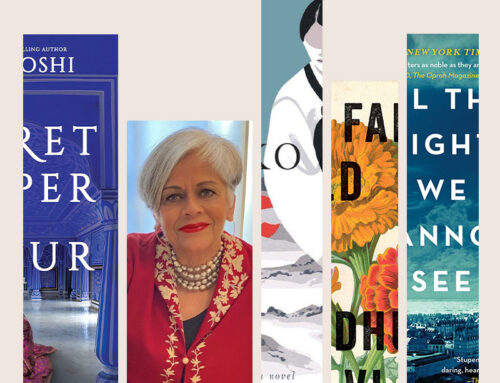 Ten Book Challenge: Alka Joshi's Book-It List